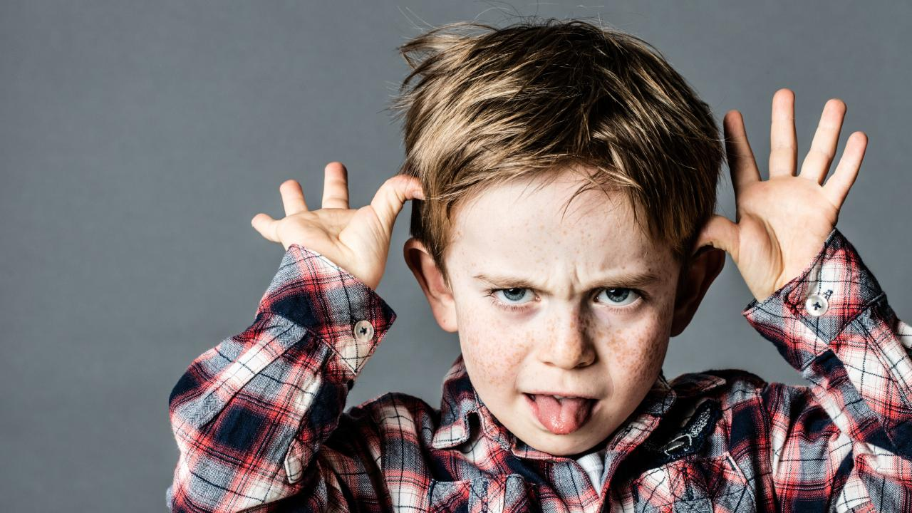 Turning around a child's bad behaviour is not as hard as you might think. Picture: iStock