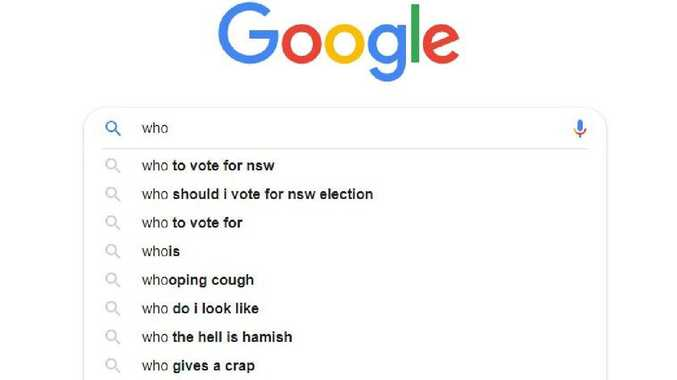 todays searched for phrase on the NSW election