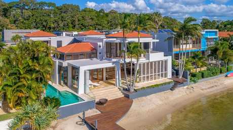 This house at 27 Mossman Court, Noosa Heads, recently sold for $5.75m.