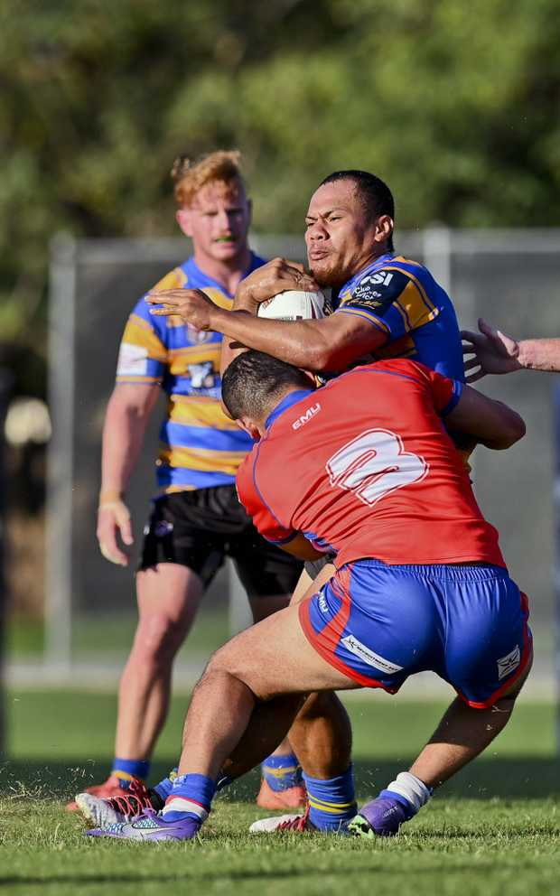 Image for sale: RLI Norths v Redbank Plains. Norths' Timote Paseka.