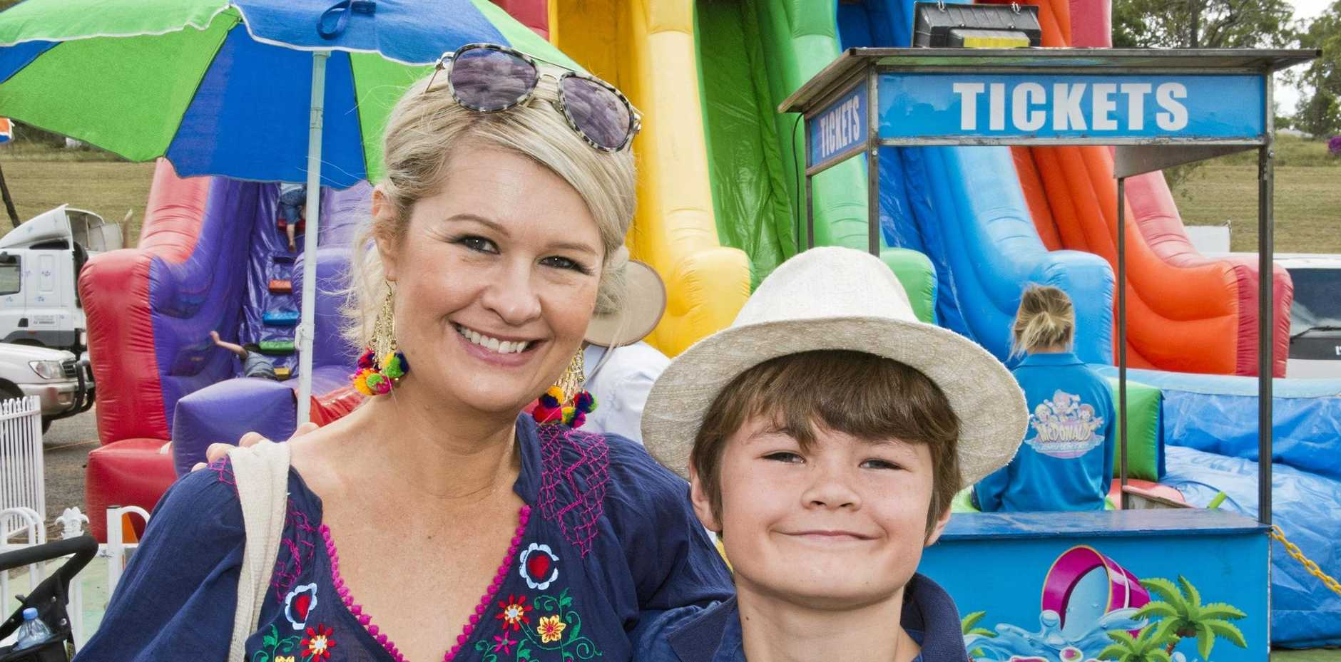 ROLL UP: Charmaine and Hugo Searle had a ball at last year's show and this year is shaping up to be even better.