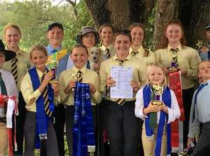 Our local pony club aces shine