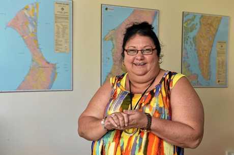 Butchulla Aboriginal Corporation secretary Christine Royan.