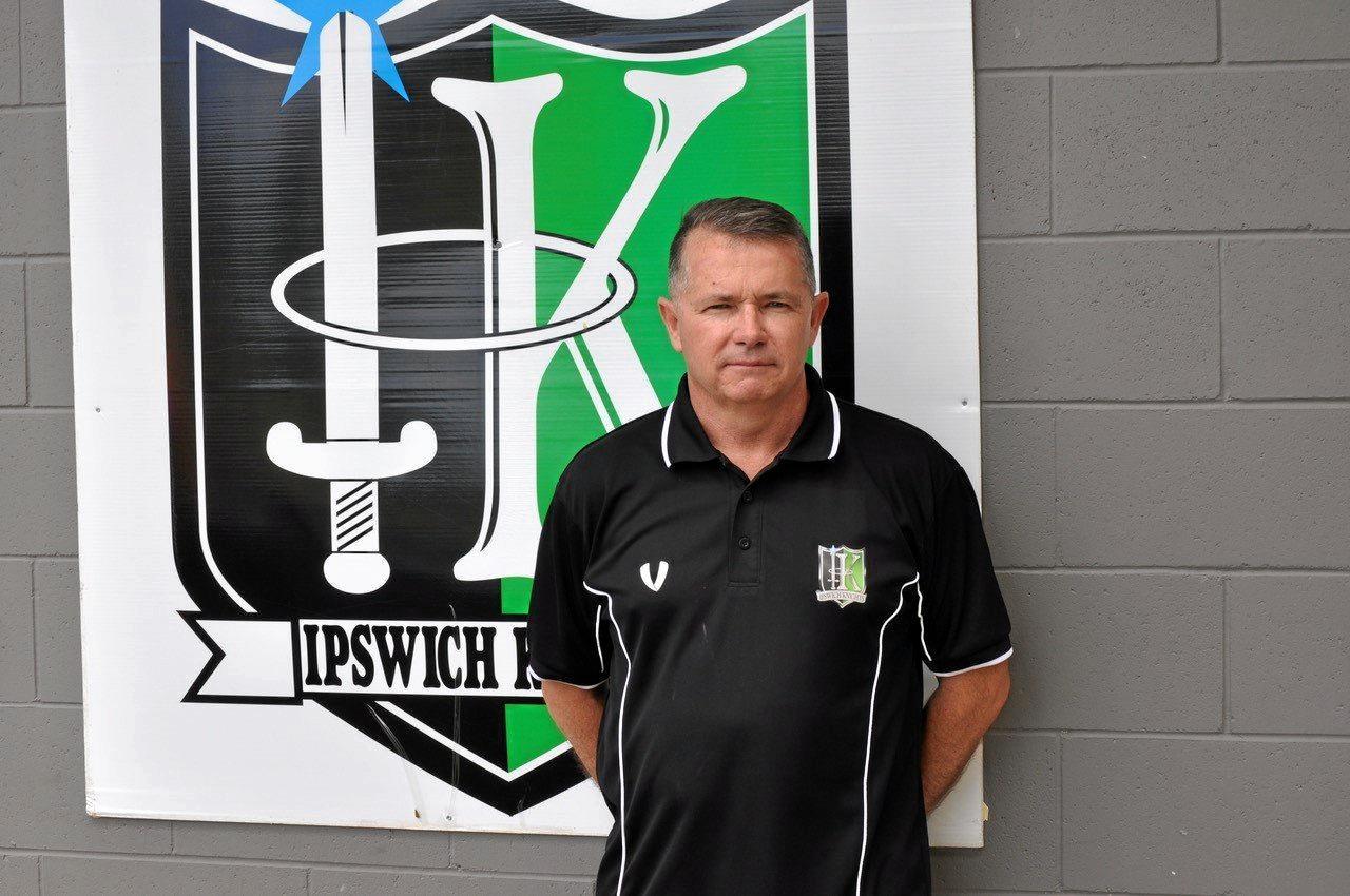 Ipswich Knights head coach Andy Ogden.