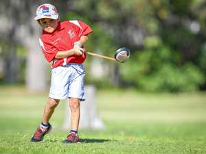 PHOTOS: Junior golfers tee off