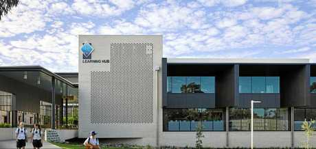 St Andrew's Anglican College 'Learning Hub' by Wilson Architects.