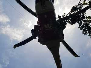 Woman rescued from Mt Warning by helicopter