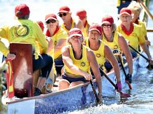 Dragon boats make a splash at states