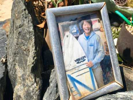 Tadashi Nakahara was attacked at Shelley Beach at Lennox Head in Northern NSW. Photo: Ian Lloyd Neubauer