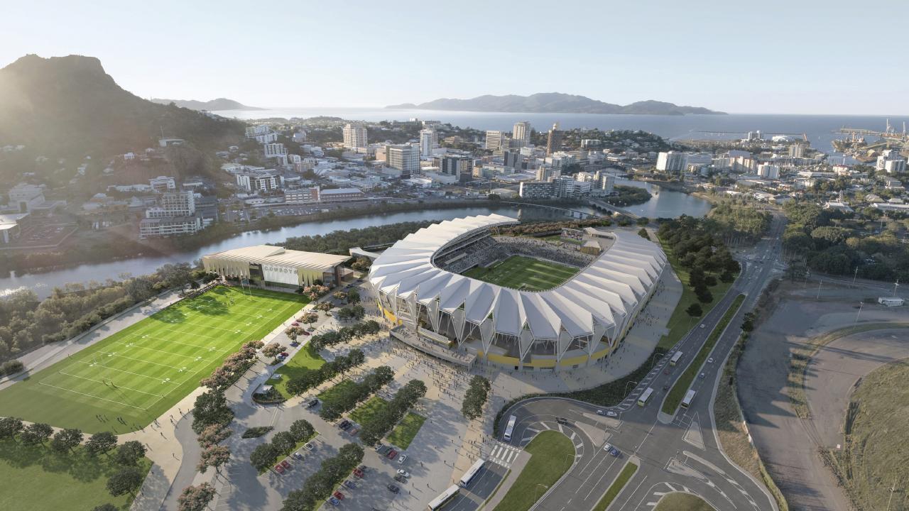 The Cowboys' proposed new training base and stadium.