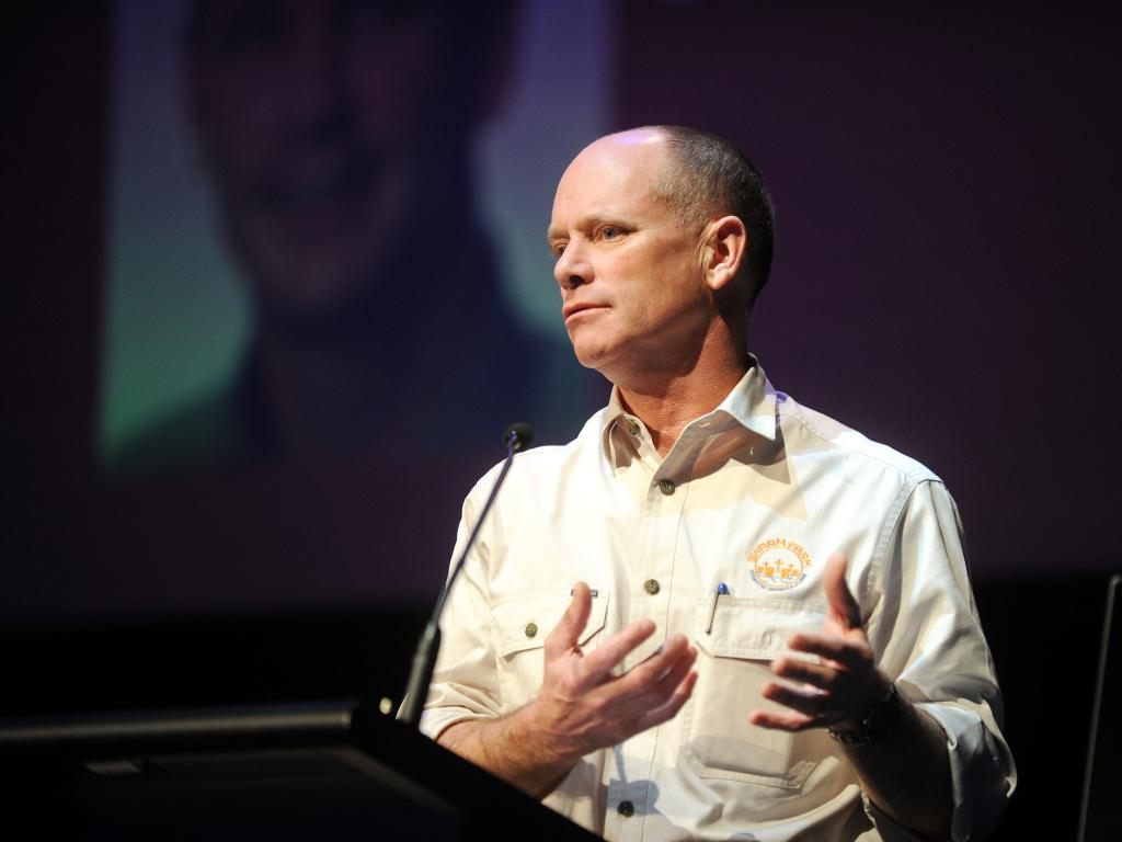 "Former Premier Campbell Newman on councils: ""I am sad that they have failed their communities."" Picture: Shae Beplate"
