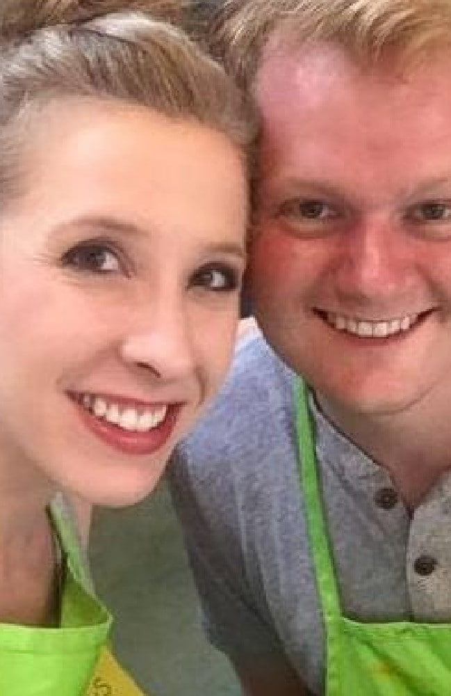 Alison Parker and her partner Chris Hurst.