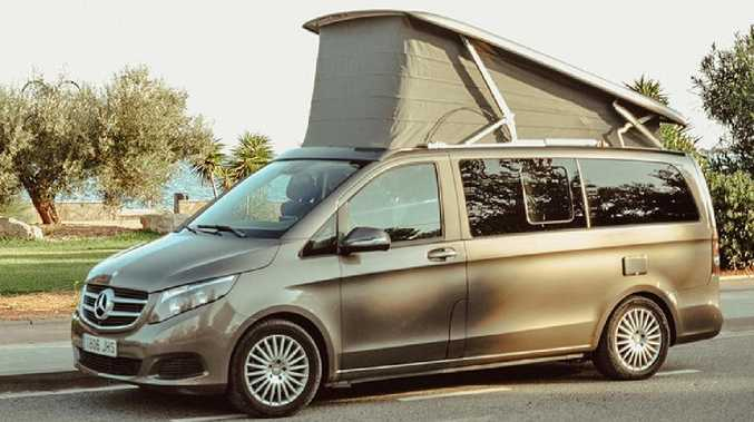 Glamping on four wheels with Mercedes-Benz Marco Polo van