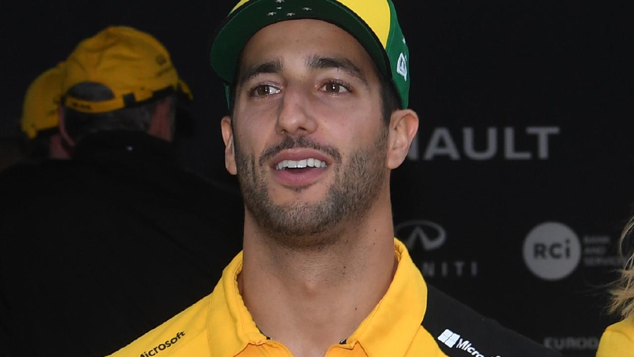 Daniel Ricciardo is seeing the lighter side of life after his horror Australian GP.