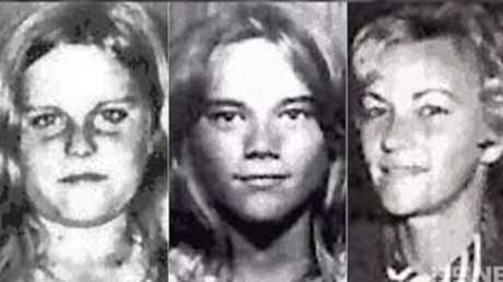 Barbara and her daughters Vicki and Leanne whose bodies have never been found. Picture: Nine