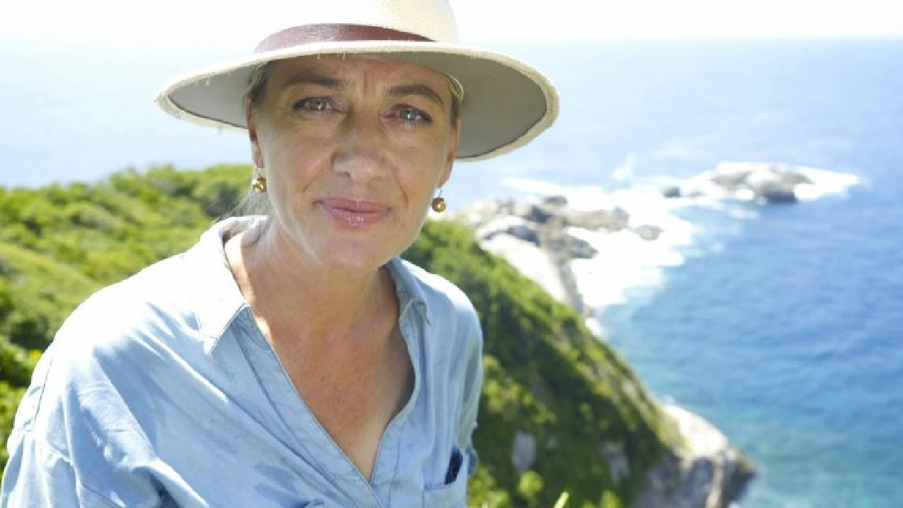 Tara Brown went to Snake Island for a 60 Minutes report. Picture: 60 Minutes