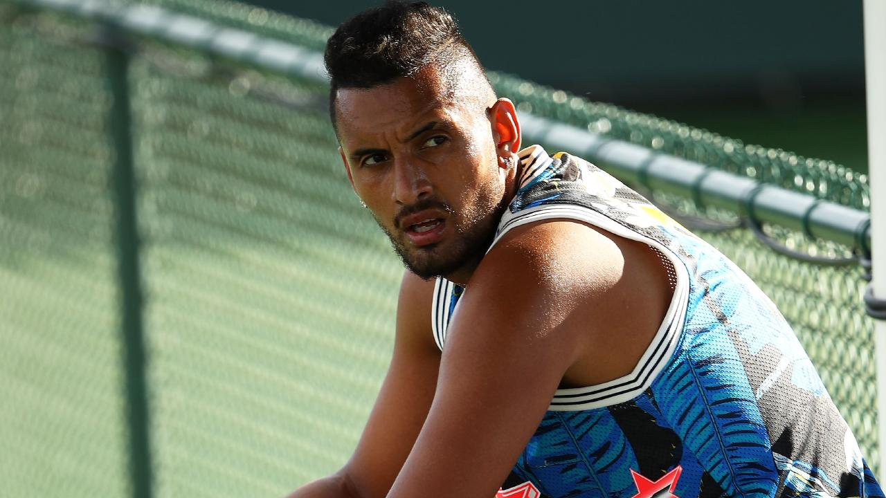 Nick Kyrgios is different to most tennis players.