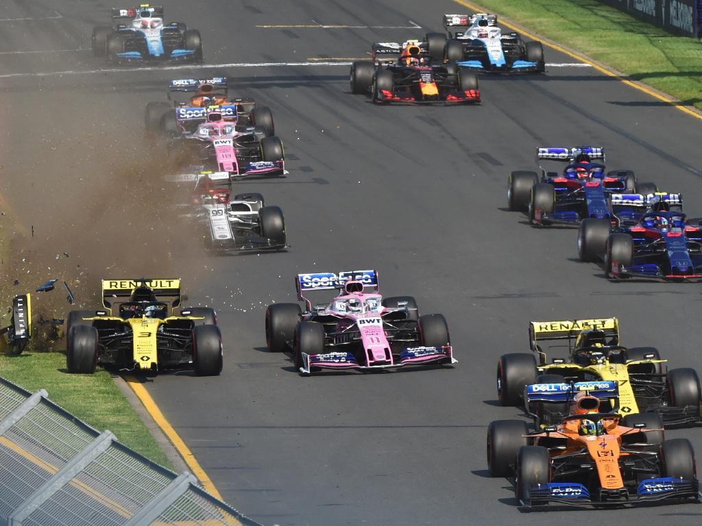 Daniel Ricciardo (left) started the season in the worst possible fashion.