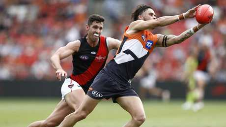 Zac Williams showed his athleticism for GWS. Pic: Getty Images