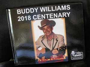 Historical book marks Buddy Williams' birthday celebrations