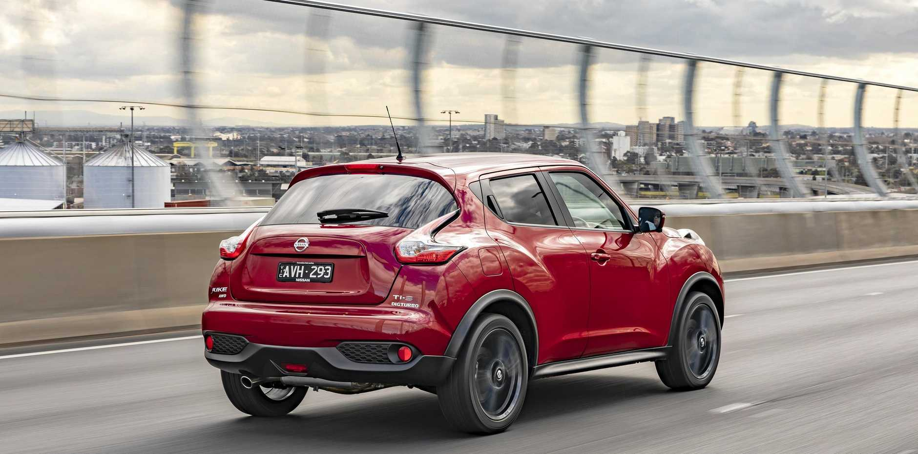 The Nissan Juke in Ti-S  specification.