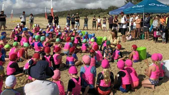 Peregian nippers activities - some supporters are worried they might not have the space next year to carry on.