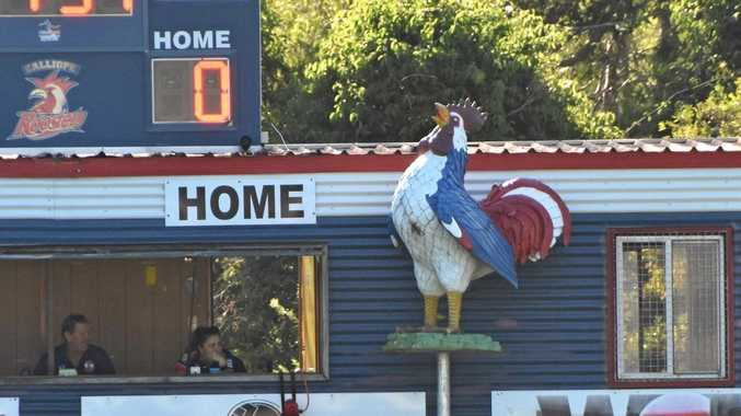HOME TO ROOST: The Calliope Roosters hosted a Family Day at Bunting Park on Saturday. It was the first home game of the season for the Roosters.