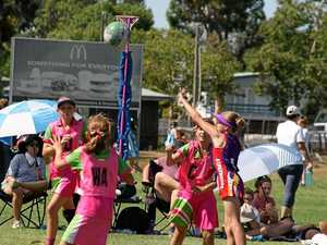 Stanthorpe netballers at inter-district carnival