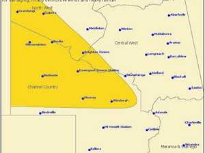 Big rain fall totals expected for part of Central Queensland