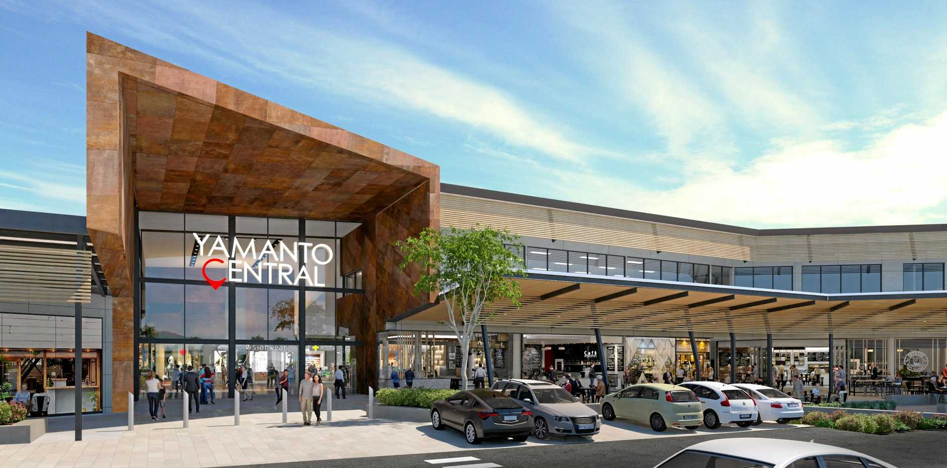 Artist renders of Yamanto Central.