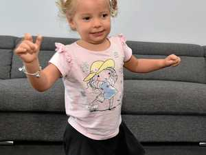 Toddler hits major milestone despite congenital infection