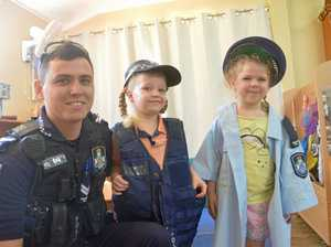 Our young residents befriend the police