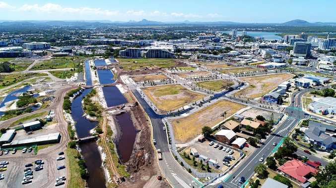 Development of the new CBD at Maroochydore, Sunshine Coast.