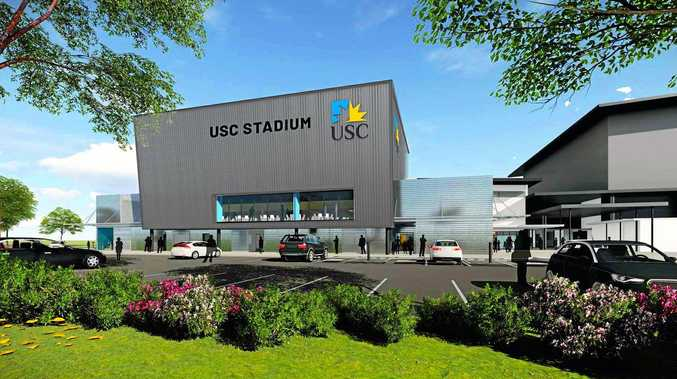 USC has released images of its $9 million stadium redevelopment project as work is expected to finish within two months.