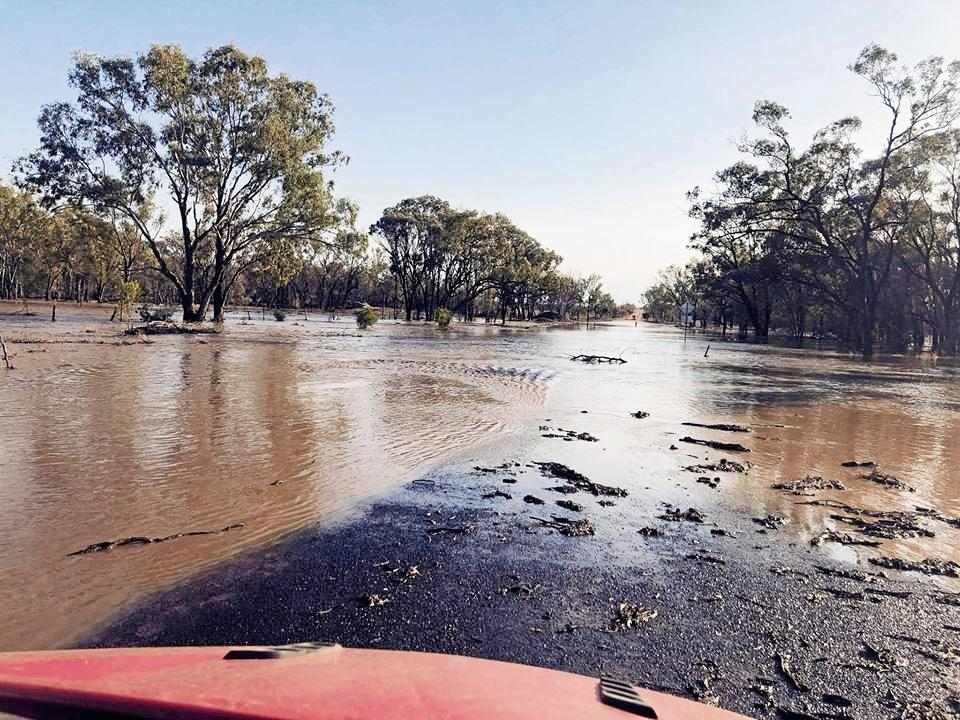A number of roads in the Bulloo and Quilpie shires are currently closed due to rain and flooding.