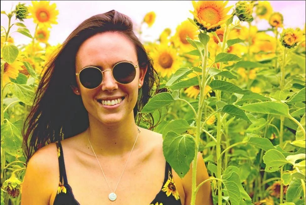FLOWER POWER: All money raised from this year's Barney Miller Classic will go to 24-year-old Jessica Collins.