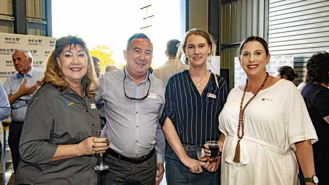 Annette Scarborough (Corella Group), Wayne Rutledge (Department of Employment, Small Business & Training), Anna Nicholls (CEDAR Centre) & Stacey Linney (USQ)