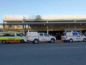 BREAKING: Ten person brawl at Rockhampton CBD bus stop