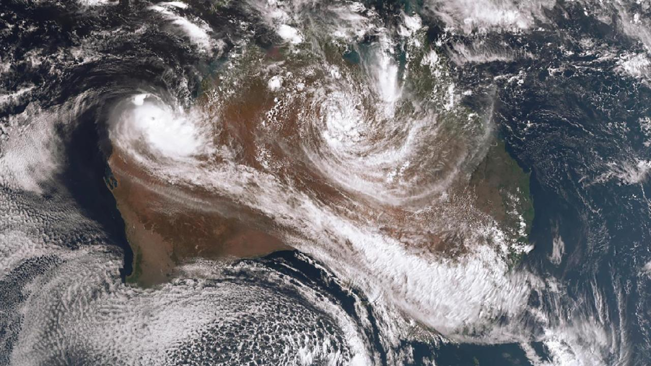 Ex-tropical cyclone Trevor heads back east after wreaking havoc in the Northern Territory.