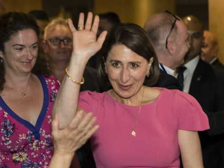 Gladys Berejiklian defied the toxicity of the Liberal National brand to get elected in NSW. Picture: Brook Mitchell/Getty Images