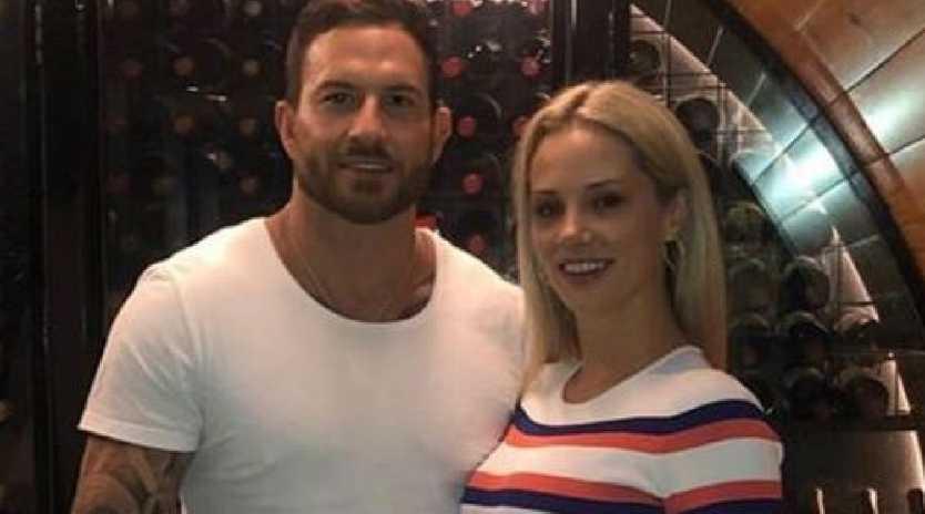 Daniel Webb and Jessika Power. Photo: Instagram