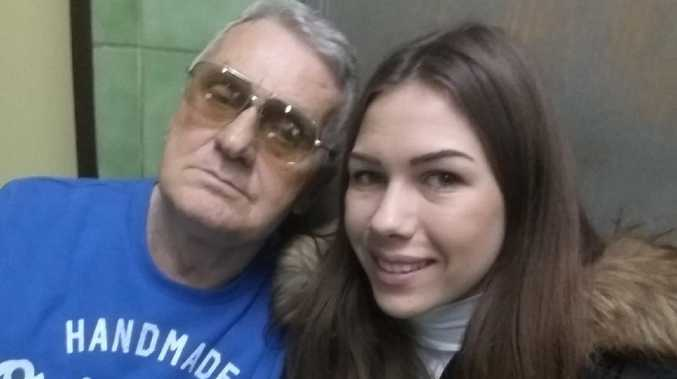 This stunning 21-year-old brunette says she has sex with her 74-year-old fiance every day — and that he never needs Viagra. Picture: CEN/Australscope