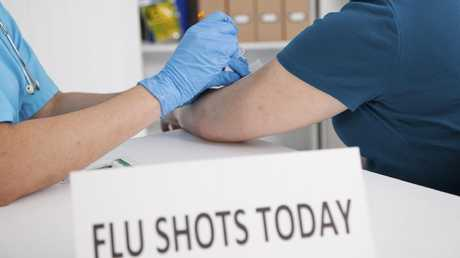 The government-funded influenza vaccine will be available in early April.