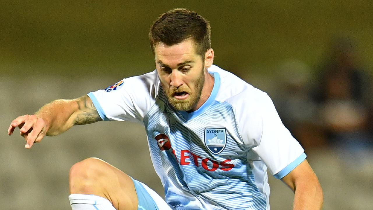 Sydney's Joshua Brillante during the AFC Champions League match between Sydney FC and Ulsan Netstrata at Jubilee Stadium in Sydney, Wednesday, March 6, 2019. (AAP Image/Dean Lewins) NO ARCHIVING, EDITORIAL USE ONLY