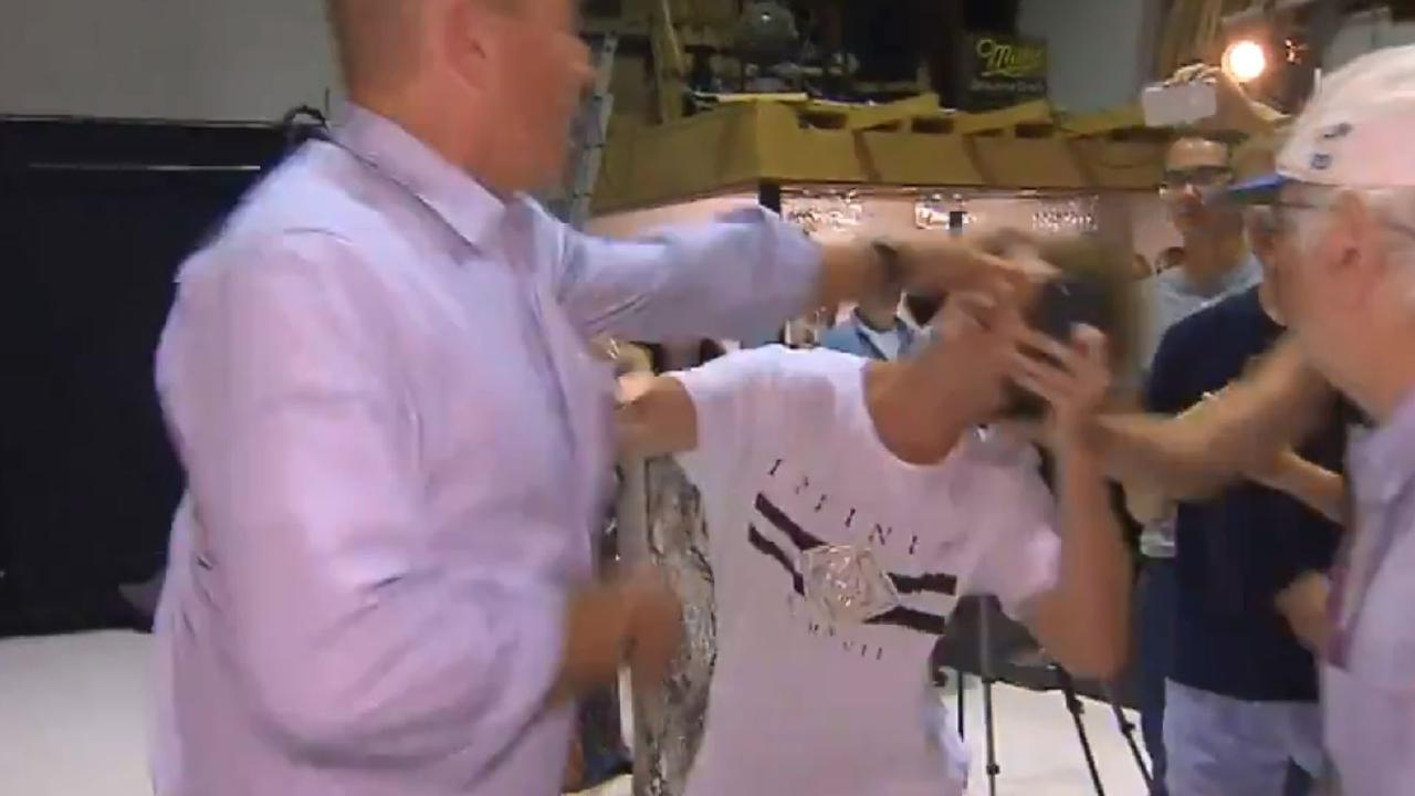 Teenager Will Connolly was later dubbed the #Eggboy.