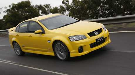 Used car lots are chock full of older versions of the locally built Holden Commodore.