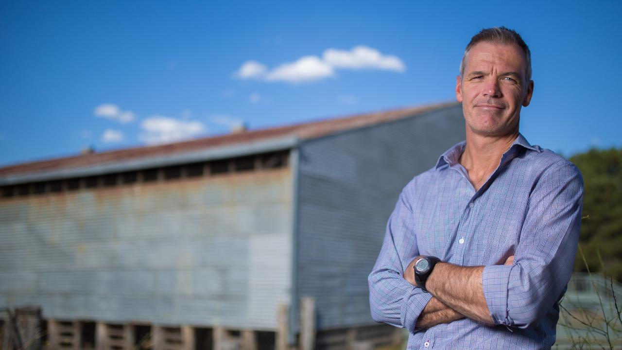 National Farmers' Federation chief executive Tony Mahar.