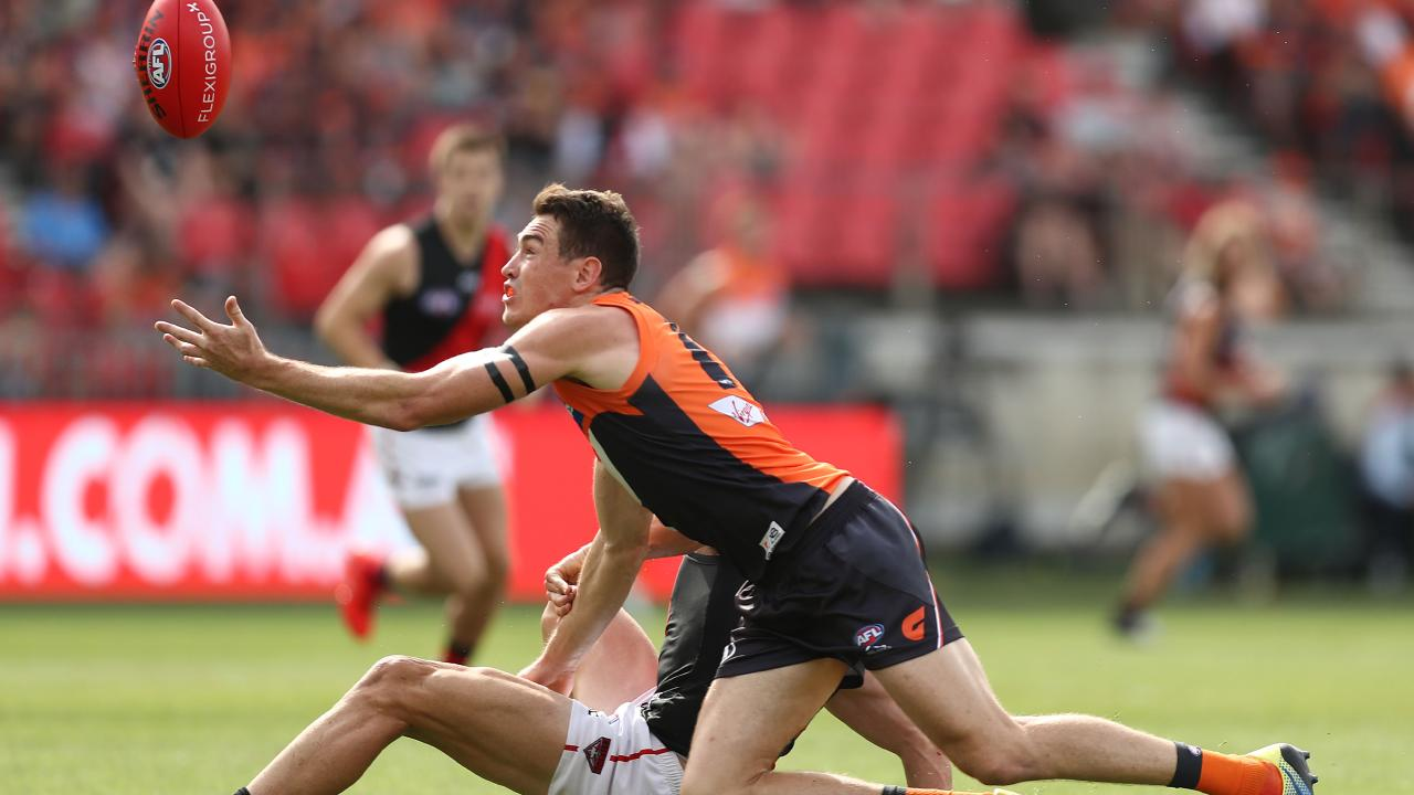 Essendon could not match GWS Giants' desperation during their Round 1 clash. Picture: Mark Metcalfe/AFL Photos/Getty Images.