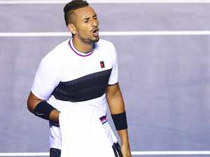 Kyrgios in slanging match with a spectator in Miami