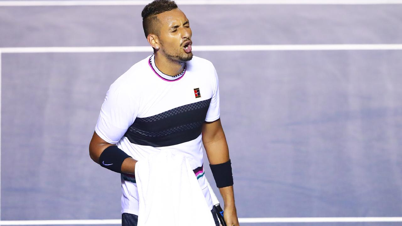Kyrgios isn't everyone's cup of tea.